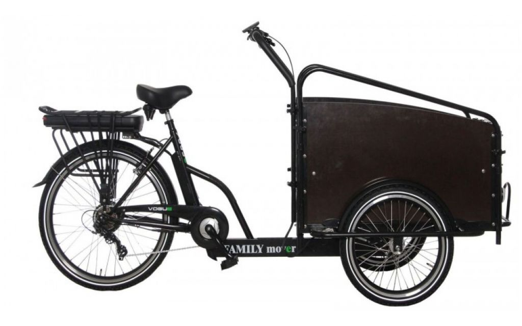 Vogue Family Mover E-bike bakfiets